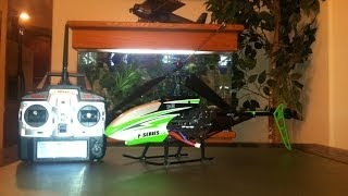 MJX F645 F45 RC Helicopter Unboxing & Review