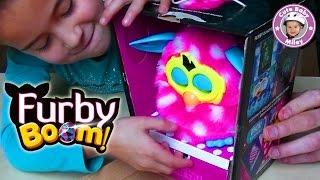 Furby Boom Deutsch - Der Test von Plüschfigur und App - Demo Review