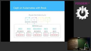 ceph storage with rook running ceph on kubernetes
