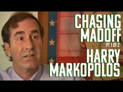 DP/30: Chasing Madoff, subject Harry Markopolos (pt 1of 2)