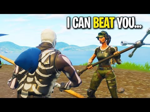 KID SAYS HE CAN BEAT ME IN A BUILD BATTLE ON FORTNITE! (Playground 1v1)
