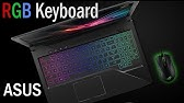 Asus Strix Rog: How To Change Keyboard Colour (RGB Settings - ROG