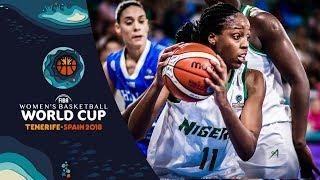 Nigeria v Greece - Highlights - FIBA Women's Basketball World Cup 2018