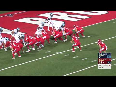 #CAAFB Highlights October 20: Stony Brook 52, Rhode Island 14
