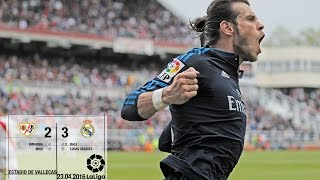 Rayo Vallecano 2-3 Real Madrid (La Liga 2015/16, matchday 35)
