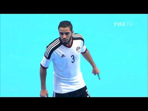 Match 4 - Cuba v Egypt -  FIFA Futsal World Cup 2016