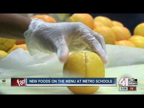 New lunch menu at metro schools