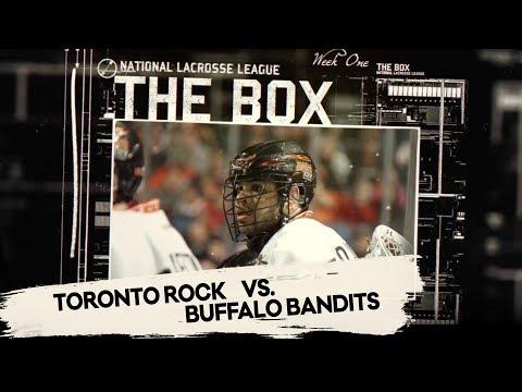 THE BOX: Toronto Rock @ Buffalo Bandits - Week One