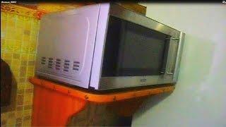 Полочка под микроволновку своими руками. Do a shelf for the microwave.