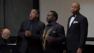 Three Spirituals for Three Baritones Kenneth Overton, Kevin Thompson and Robert Sims.