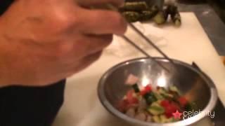 Watermelon Ceviche By Chef Makoto Okuwa