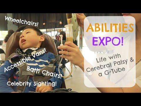 ABILITIES EXPO: Wheelchair Vans, Cerebral Palsy, Feeding Tube, Blenderized Diet,  Micah Fowler