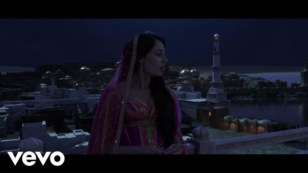 "Mena Massoud, Naomi Scott - Desert Moon (From ""Aladdin"")"
