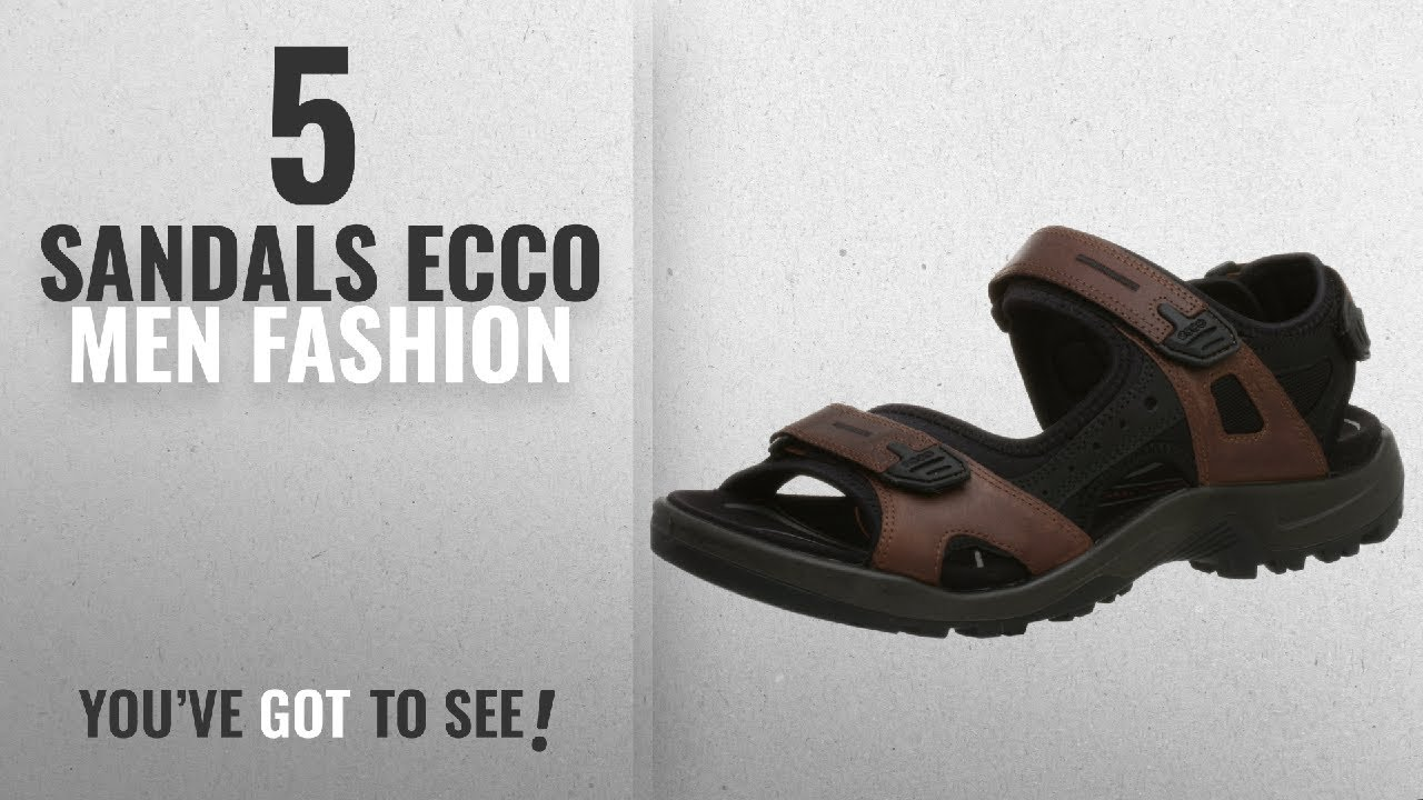 21cc062c95560c Top 10 Sandals Ecco  Men Fashion Winter 2018    ECCO Men s Yucatan ...