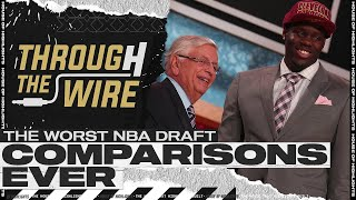The Worst NBA Draft Comparisons Ever | Through The Wire Podcast