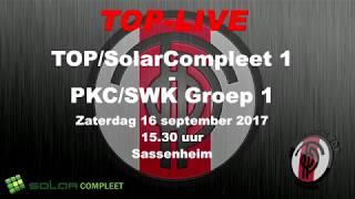 Ereklasse B: TOP/SolarCompleet tegen PKC/SWKGroep