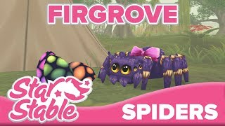 All 10 Spiders In Firgrove 🕷   Star Stable Online