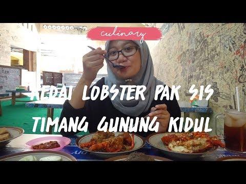 wisata-kuliner-pantai-jogja-|-lobster-terenak-dan-renyah-di-kedai-lobster-pak-sis-timang