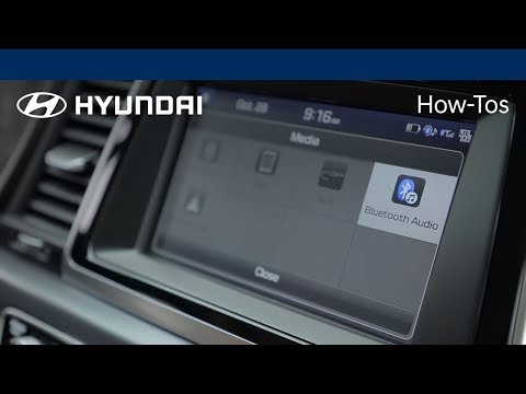 How to play music using Bluetooth® audio | Hyundai