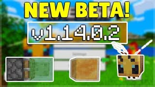 MCPE 1.14.0.2 BETA NEW REDSTONE CHANGES! Minecraft Pocket Edition Bees Improved