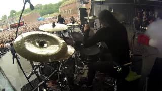 "SEPTICFLESH@Communion-Kerim ""Krimh"" Lechner-live at Brutal Assault 2016 (Drum Cam)"