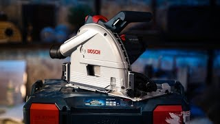 Bosch GKT55 GCE Plunge Saw Review