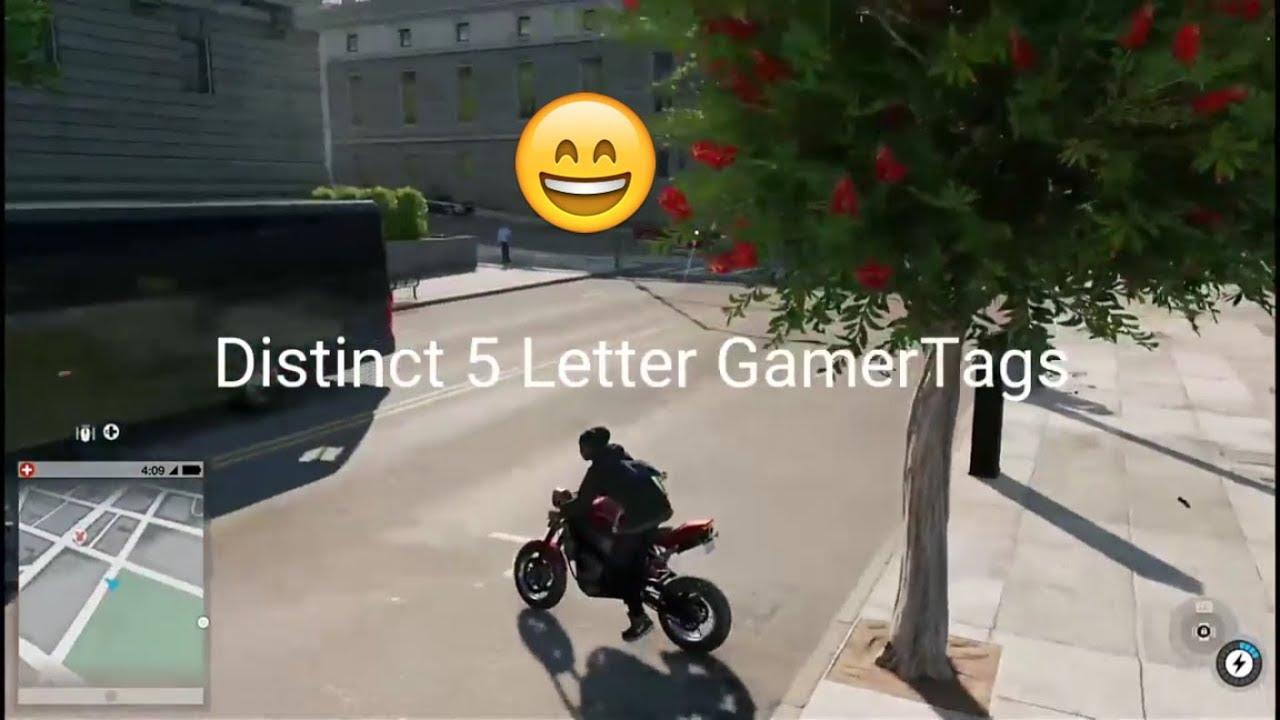 OG 5 Letter GamerTags Not Taken Xbox 2018