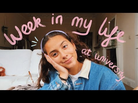 a week in my life at university 📚(University of Edinburgh)