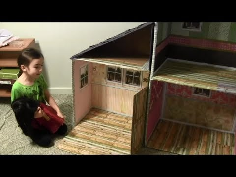 How To Make American Girl Doll House (18