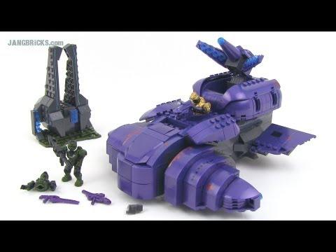 Halo Mega Bloks 97014 Covenant Wraith Review - YouTube  |Covenant Wraith Purple