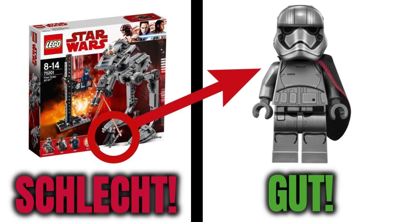 Die TOP 10 schlechtesten LEGO Sets mit GUTEN Minifiguren!