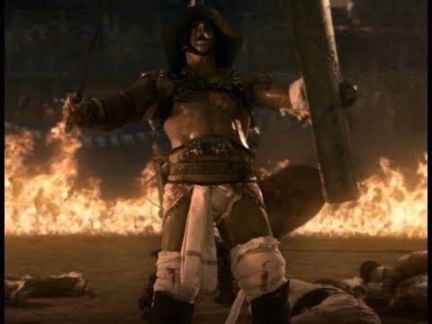Spartacus:Gods of the arena HD 1080, Caburus vs Crixus and ...