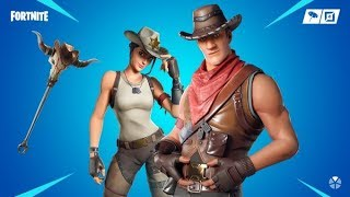"*NEW* Headin' West ""cowboy"" skins in Fortnite Battle Royale (ITEM SHOP Showcase)"