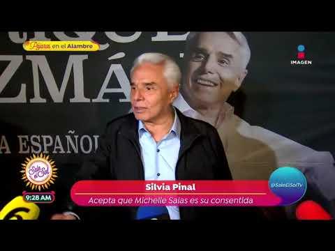 ¡Silvia Pinal confiesa que Michelle Salas es su consentida!   Sale el Sol