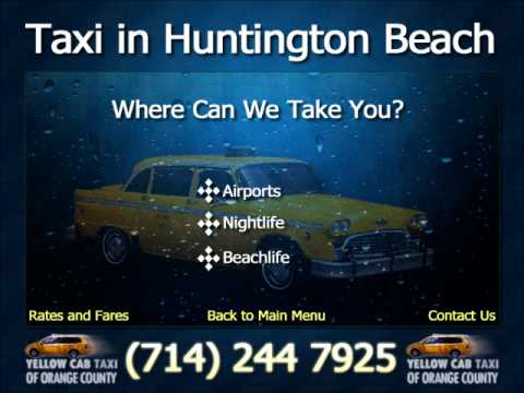 Yellow Cab Taxi In Huntington Beach Where Can We Take You