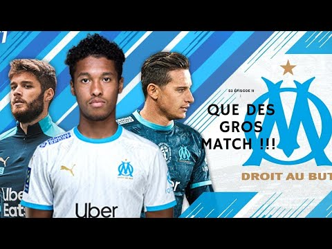 Ma carriere avec l'OM: ON ENCHAINE QUE DES GROS MATCH!!