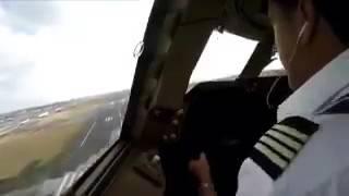 #فيديو_ترند.. هبوط مرعب لطائرة (بوينج 747) بسبب الرياح
