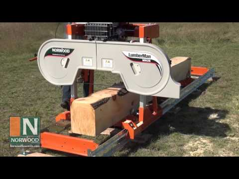 The Easy-to-Use, Capable, Back-Yard Sawmill from the World Leader in Portable Sawmill Technology