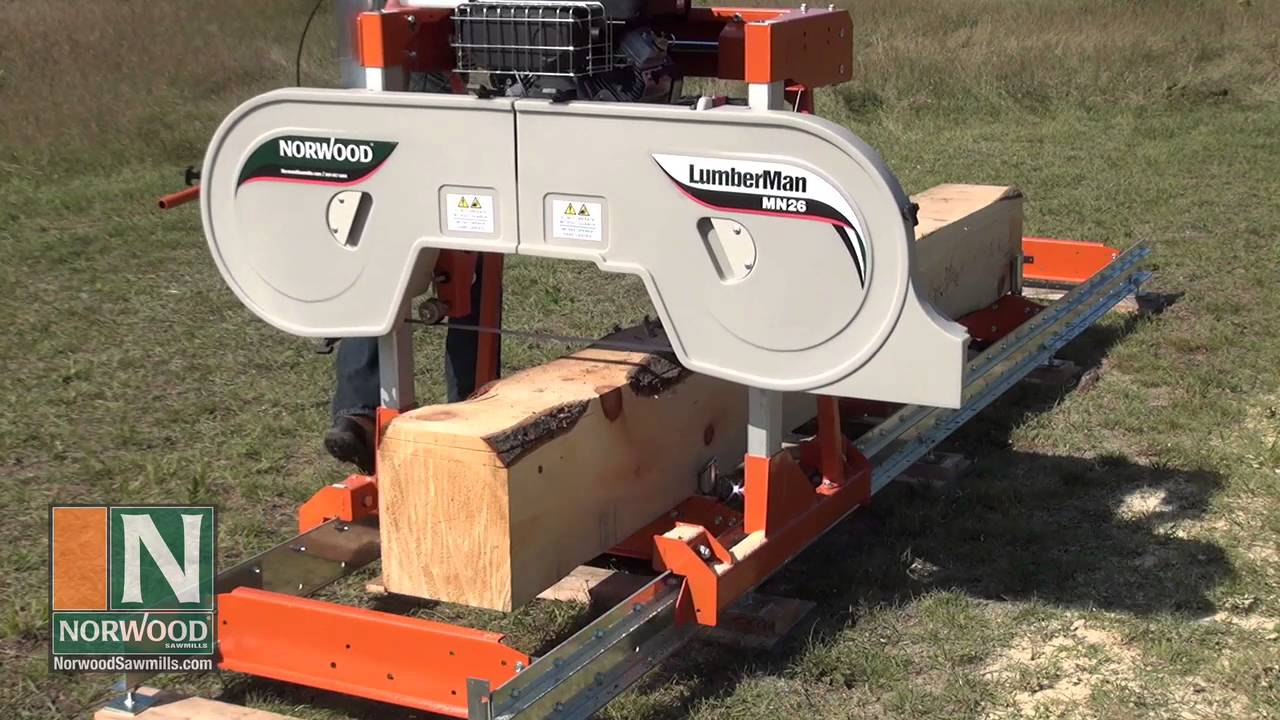 The EasytoUse Capable BackYard Sawmill From The World Leader - Backyard sawmill