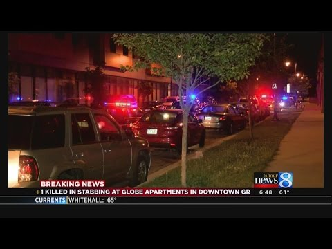 Man stabbed to death at downtown GR apartment