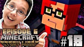 Minecraft: Story Mode - EPISODE 6 - WHITE PUMPKIN? LDShadowLady, Stampy Cat, Stacy Plays? - Part 18