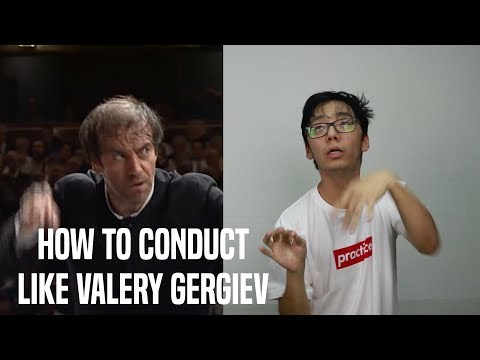 Learn to Conduct like Gergiev in 1 minute