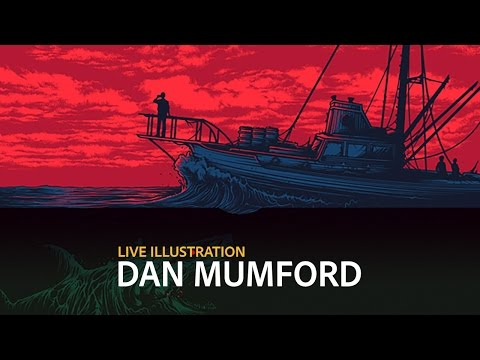 Live Illustration with Dan Mumford - DAY 2/3