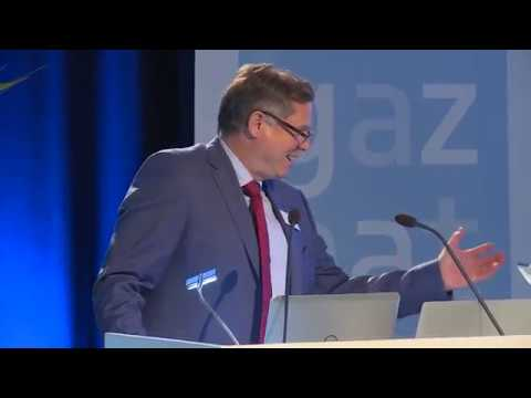 Gaznat / Global Gas Centre - Conference: R&D in the gas industry - Introduction of Mr. BAUTZ