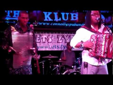J.J. Caillier and the Zydeco Knockouts at Connolly's, NYC, Sept. 9, 2012.