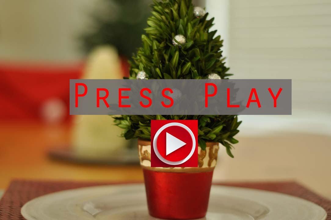 Mini Christmas Tree Stand
