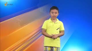 Ghi hình trường quay - MC Minh Quang - Lớp MC nhí N15 Đông Anh