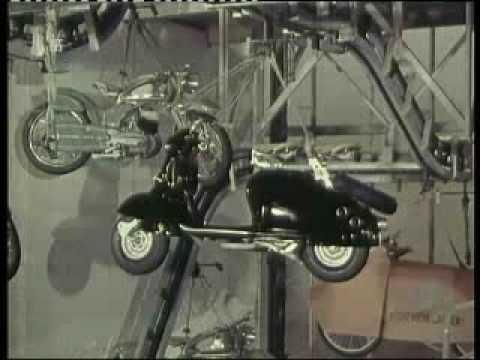 Motorräder der NSU aus den 50er Jahren