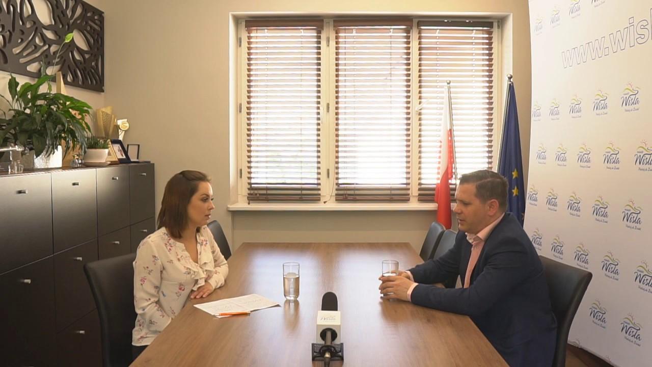 Wywiad z burmistrzem miasta Wisła Tomaszem Bujokiem