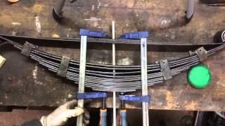 [Tuto]#2 Remontage d'un ressort de suspension à lames [fr]